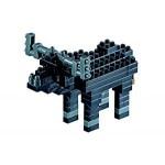Brixies-57926 3D Nano Puzzle - Buffalo