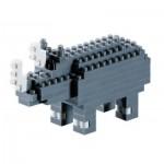 Brixies-57927 3D Nano Puzzle - Rhino