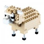 Brixies-58114 3D Nano Puzzle - Sheep