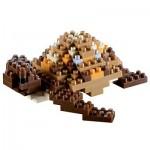 Brixies-58115 3D Nano Puzzle - Turtle