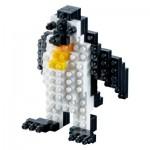 Brixies-58174 Nano Puzzle 3D - Penguin (Level 1)