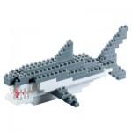 Brixies-58241 3D Nano Puzzle - Shark