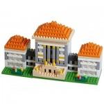 Brixies-58251 Nano 3D Puzzle - Nymphen Castle (Level 3)