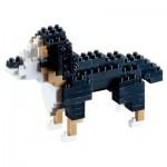 Brixies-58424 3D Nano Puzzle - St. Bernard