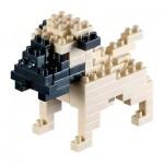 Brixies-58427 3D Nano Puzzle - Pug