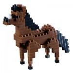 Brixies-58428 3D Nano Puzzle - Horse