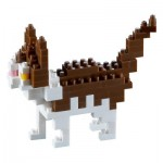 Brixies-58429 3D Nano Puzzle - Cat