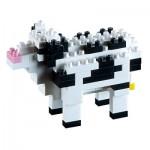 Brixies-58430 3D Nano Puzzle - Cow