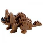 Brixies-58432 3D Nano Puzzle - Beaver