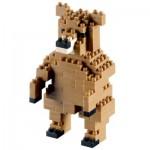 Brixies-58435 3D Nano Puzzle - Bear
