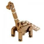 Brixies-58437 3D Nano Puzzle - Dinosaur