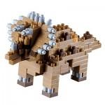 Brixies-58438 3D Nano Puzzle - Dinosaur