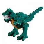 Brixies-58459 3D Nano Puzzle - Dinosaur