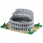 Brixies-58646 Nano 3D Puzzle - Colosseo Rome (Level 5)