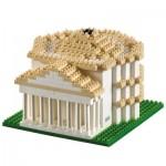 Brixies-58648 Nano 3D Puzzle - Panthéon (Level 4)