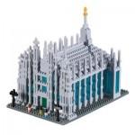 Brixies-58710 Nano 3D Puzzle - Duomo di Milano (Level 4)