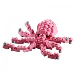 Brixies-58726 3D Nano Puzzle - Little Octopus