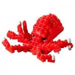 Brixies-58727 3D Nano Puzzle - Octopus