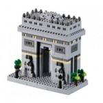 Brixies-58731 Nano 3D Puzzle - Triumphal Arch (Level 3)