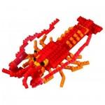 Brixies-58757 3D Nano Puzzle - Lobster