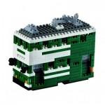 Brixies-58795 Nano 3D Puzzle - Hong Kong Ding-Ding Tram (Level 3)