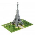 Brixies-58830 3D Nano Puzzle - Eiffel Tower