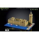 Brixies-58836 Nano 3D Puzzle - Limited Edition - Big Ben