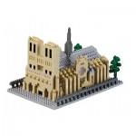 Nano 3D Puzzle - Notre-Dame Cathedral (Level 5)