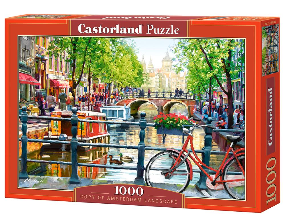 puzzle amsterdam landscape castorland103133 1000 pieces