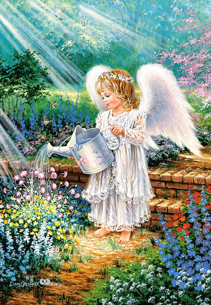 Puzzle An Angel S Gift Castorland 103881 1000 Pieces