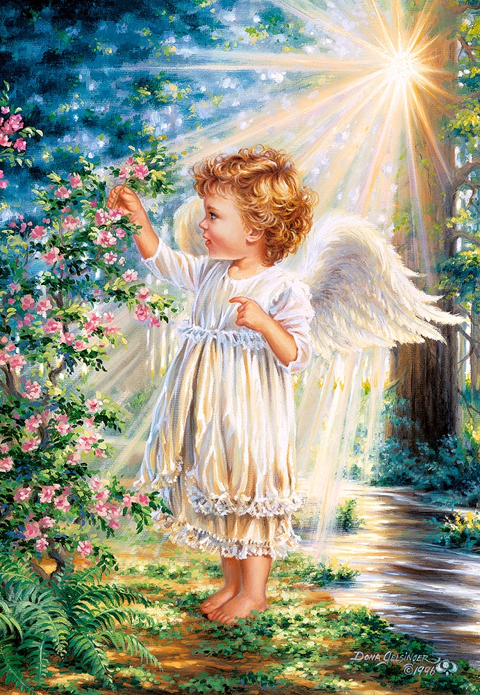 Puzzle An Angel S Touch Castorland 103867 1000 Pieces