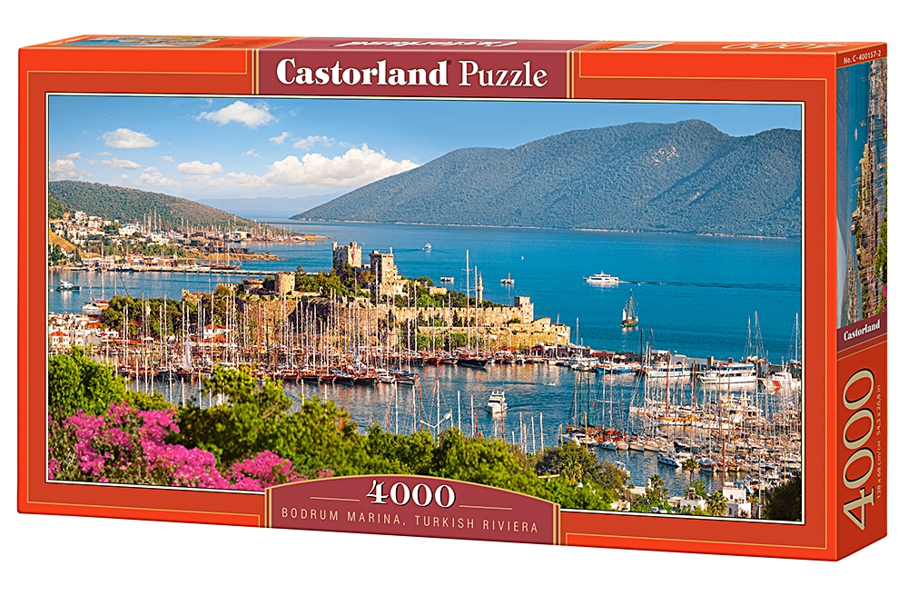 puzzle bodrum marina turkish riviera castorland 400157 4000 pieces jigsaw puzzles towns and. Black Bedroom Furniture Sets. Home Design Ideas