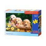 Puzzle  Castorland-010127 Hugging Puppies