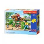Puzzle  Castorland-010165 Horse Riding Holidays
