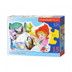 Puzzle  Castorland-015030 Little Red Riding Hood