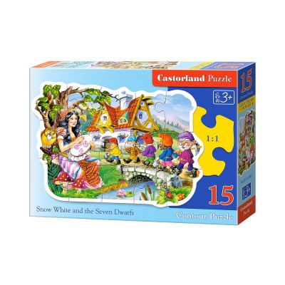 Puzzle Castorland-015085 Snow White and the Seven Dwarfs
