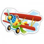 Puzzle  Castorland-015092 Funny Plane