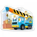 Puzzle  Castorland-015108 Funny Crane Truck