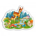 Puzzle  Castorland-015115 Little Deer