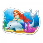 Puzzle  Castorland-015160 Little Mermaid