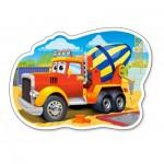 Puzzle  Castorland-015191 Mixer Truck