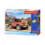Puzzle  Castorland-018017 Jeep Wrangler