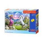 Puzzle  Castorland-018024 My Friend Unicorn
