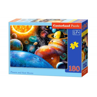 Puzzle Castorland-018345 Planets and their Moons
