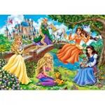 Puzzle  Castorland-018383 Princesses in Garden
