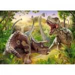 Puzzle  Castorland-018413 Dinosaurs