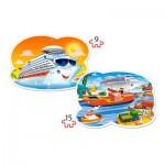 Puzzle  Castorland-020102 XXL Pieces - Sea Adventures