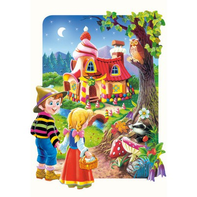 Castorland-02153 Jigsaw Puzzle - 20 Maxi Pieces : Hansel and Gretel
