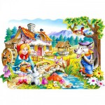 Castorland-02160 Jigsaw Puzzle - 20 Pieces : Little Red Riding Hood