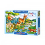 Castorland-02177 Jigsaw Puzzle - 20 Maxi Pieces : Little Deer